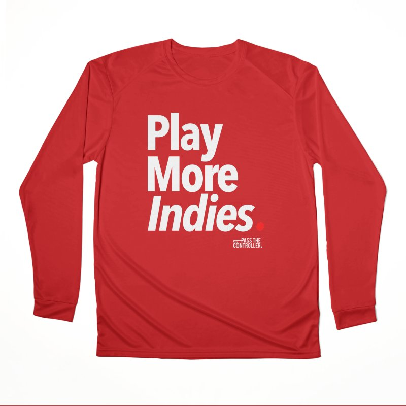 Play More Indies (Series 1) Men's Performance Longsleeve T-Shirt by Official Pass The Controller Store