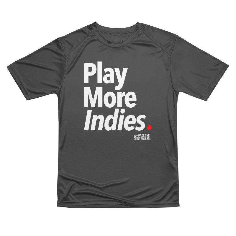 Play More Indies (Series 1) Women's Performance Unisex T-Shirt by Official Pass The Controller Store