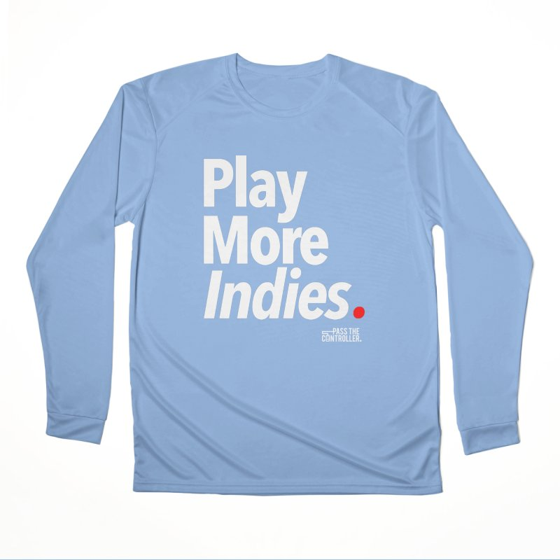 Play More Indies (Series 1) Women's Longsleeve T-Shirt by Official Pass The Controller Store