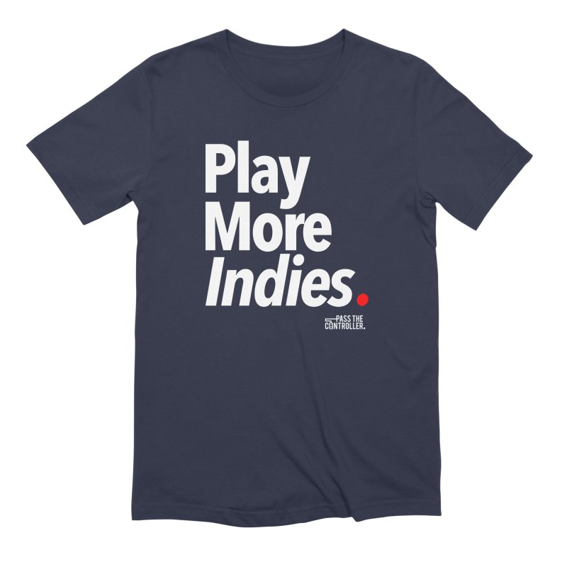 Play More Indies (Series 1) Men's Extra Soft T-Shirt by Official Pass The Controller Store