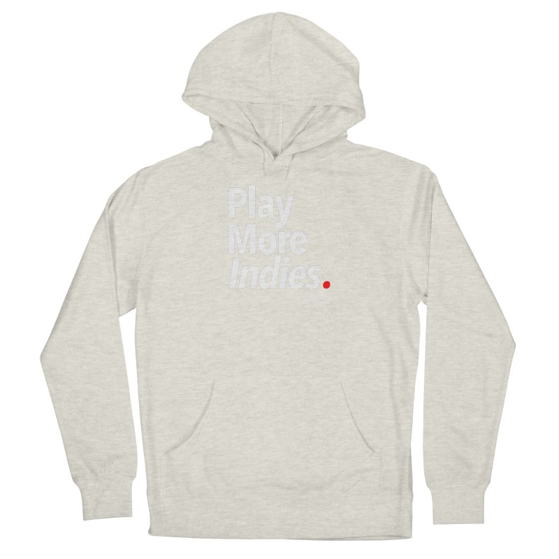 Play More Indies (Series 1) Men's French Terry Pullover Hoody by Official Pass The Controller Store