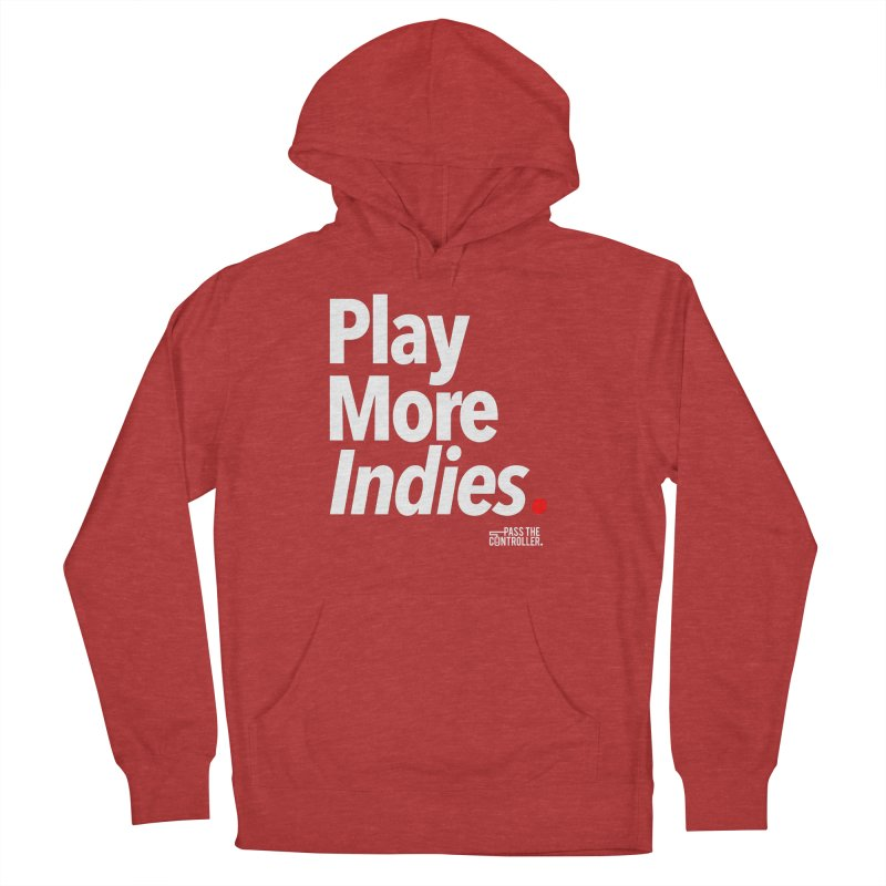 Play More Indies (Series 1) Women's French Terry Pullover Hoody by Official Pass The Controller Store