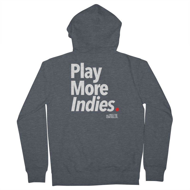 Play More Indies (Series 1) Women's French Terry Zip-Up Hoody by Official Pass The Controller Store
