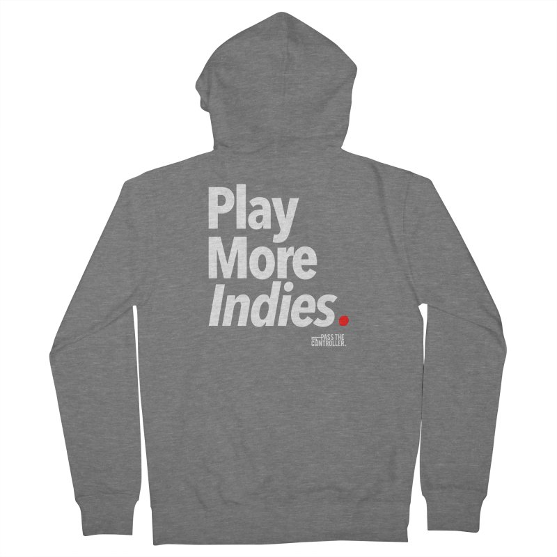 Play More Indies (Series 1) Men's French Terry Zip-Up Hoody by Official Pass The Controller Store
