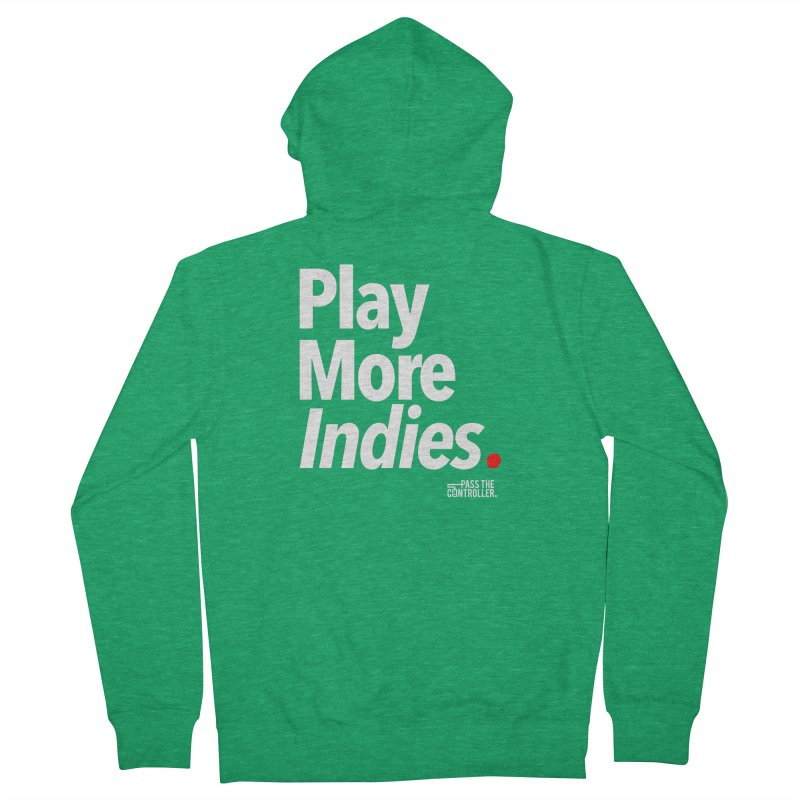 Play More Indies (Series 1) Men's Zip-Up Hoody by Official Pass The Controller Store