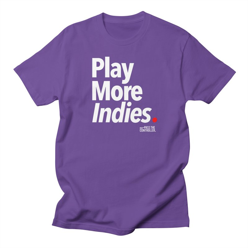 Play More Indies (Series 1) Women's Regular Unisex T-Shirt by Official Pass The Controller Store