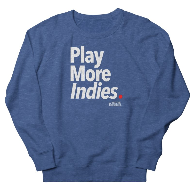 Play More Indies (Series 1) Men's Sweatshirt by Official Pass The Controller Store