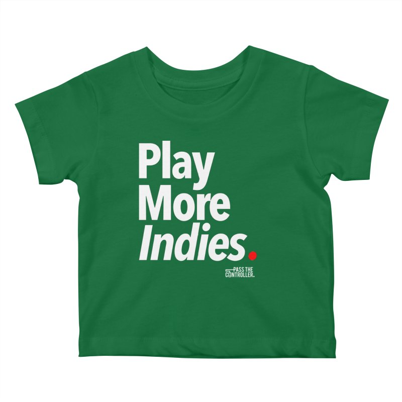 Play More Indies (Series 1) Kids Baby T-Shirt by Official Pass The Controller Store