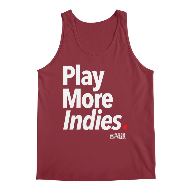 Play More Indies (Series 1) Men's Tank by Official Pass The Controller Store