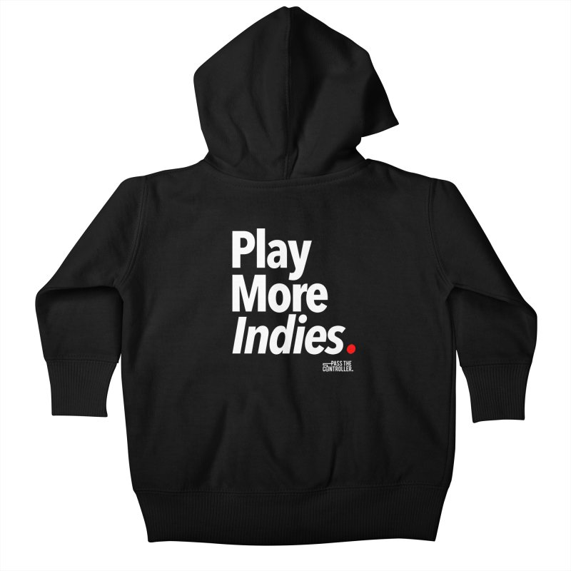 Play More Indies (Series 1) Kids Baby Zip-Up Hoody by Official Pass The Controller Store