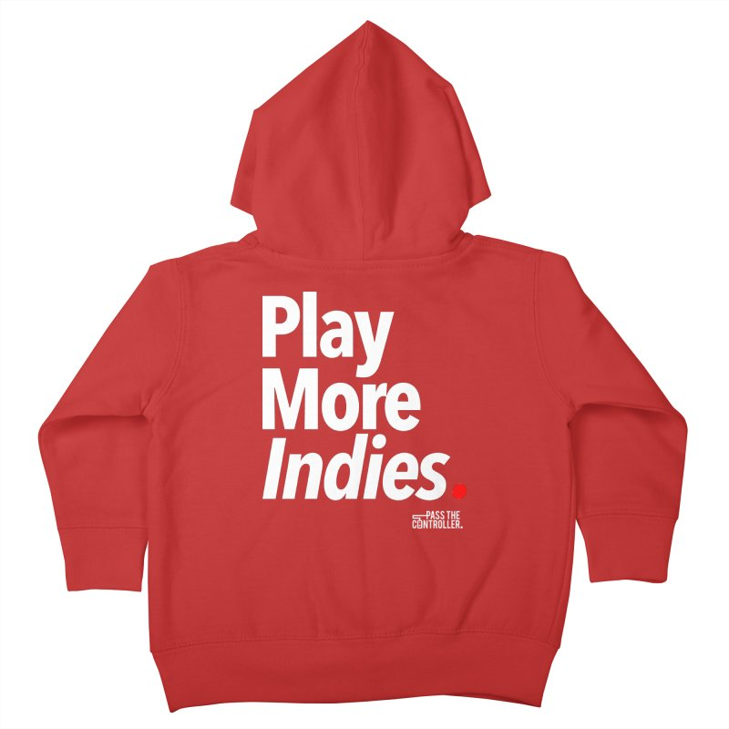 Play More Indies (Series 1) Kids Toddler Zip-Up Hoody by Official Pass The Controller Store