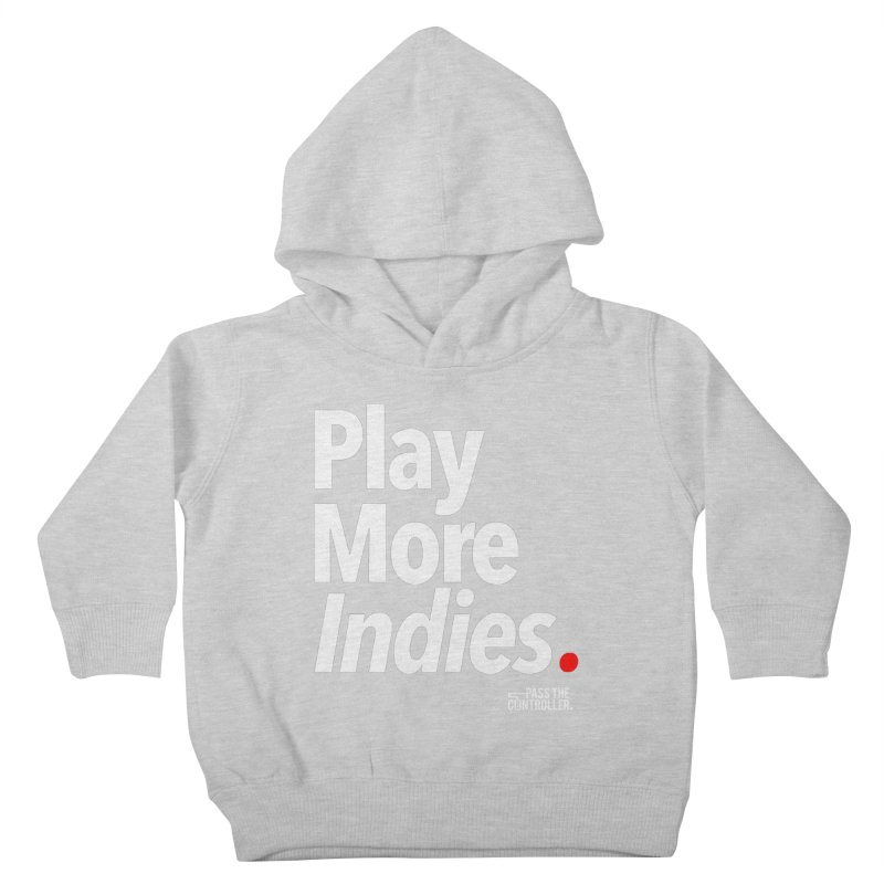 Play More Indies (Series 1) Kids Toddler Pullover Hoody by Official Pass The Controller Store