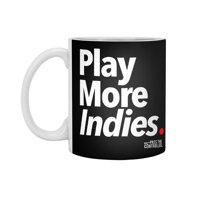 Play More Indies (Series 1) Accessories Standard Mug by Official Pass The Controller Store