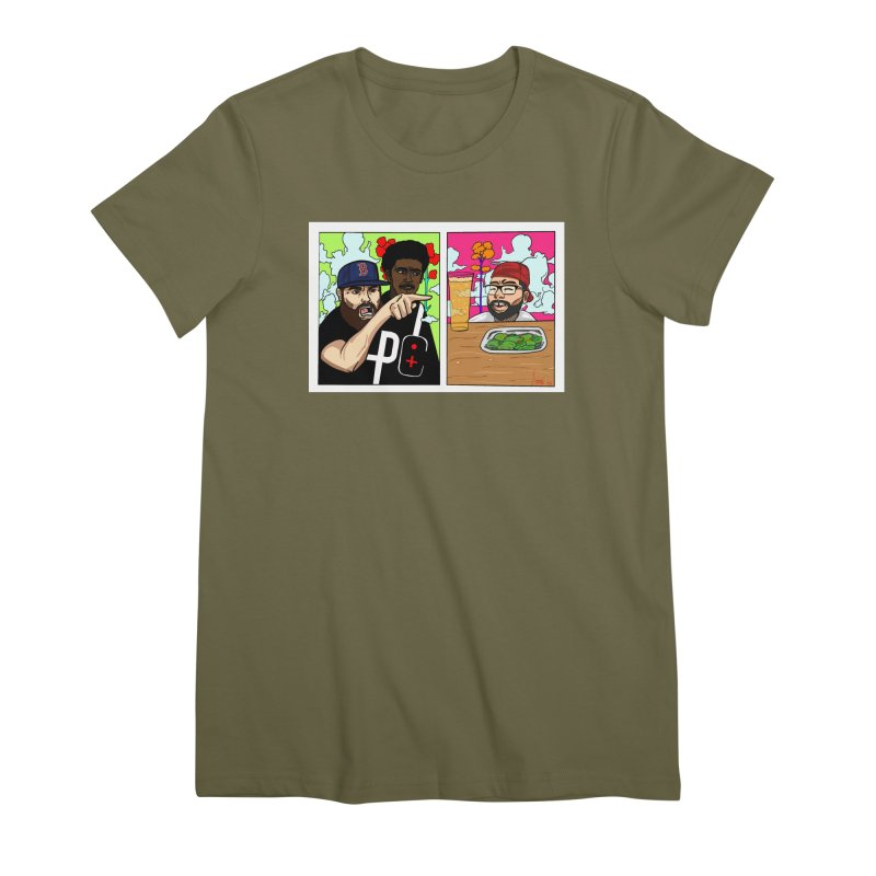 PTC Bizarre Adventure: A Meme Women's Premium T-Shirt by Official Pass The Controller Store