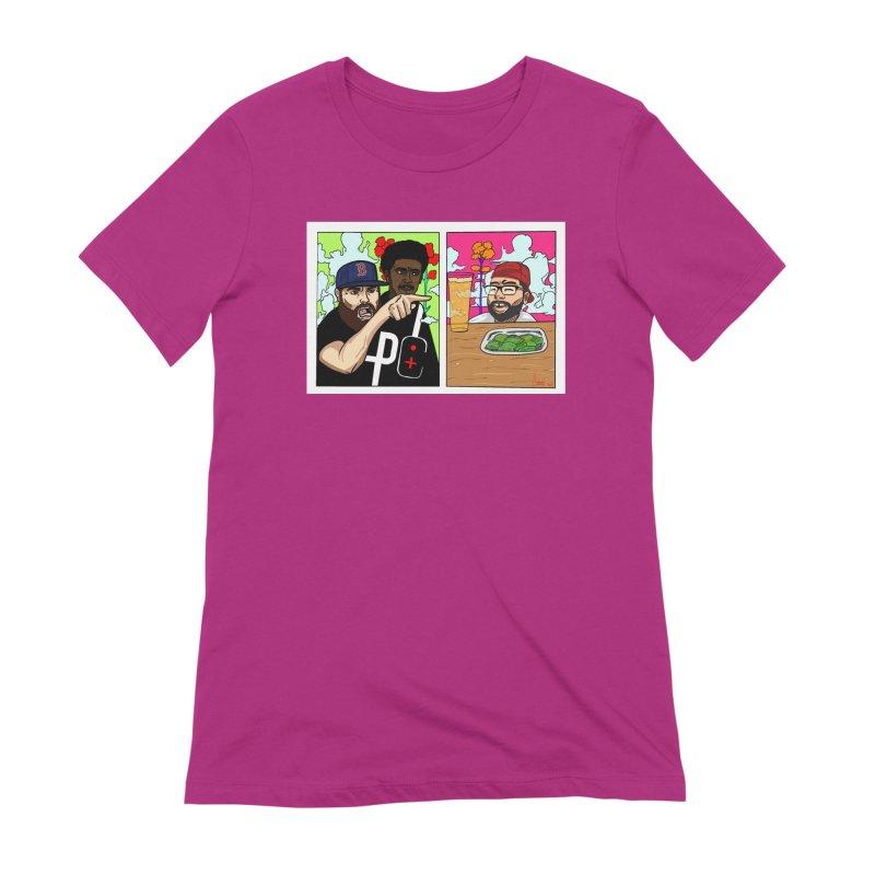 PTC Bizarre Adventure: A Meme Women's Extra Soft T-Shirt by Official Pass The Controller Store