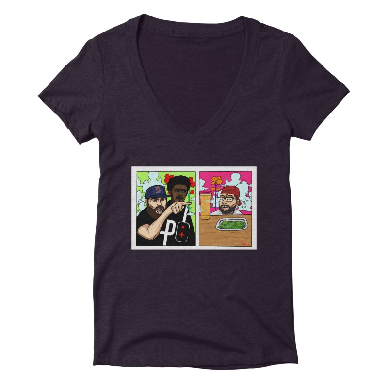 PTC Bizarre Adventure: A Meme Women's V-Neck by Official Pass The Controller Store