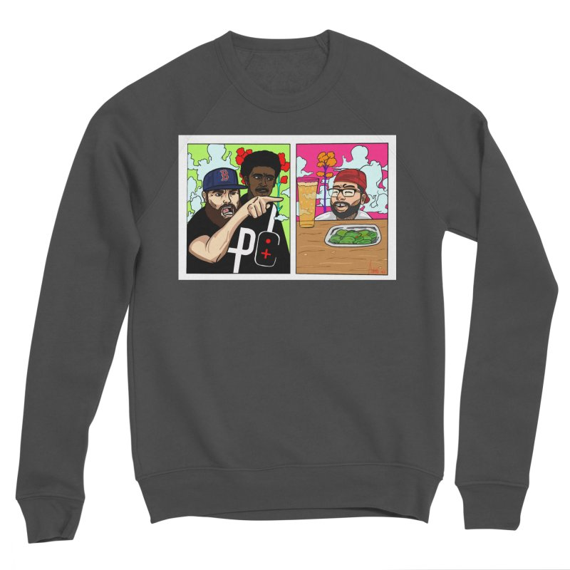 PTC Bizarre Adventure: A Meme Women's Sponge Fleece Sweatshirt by Official Pass The Controller Store
