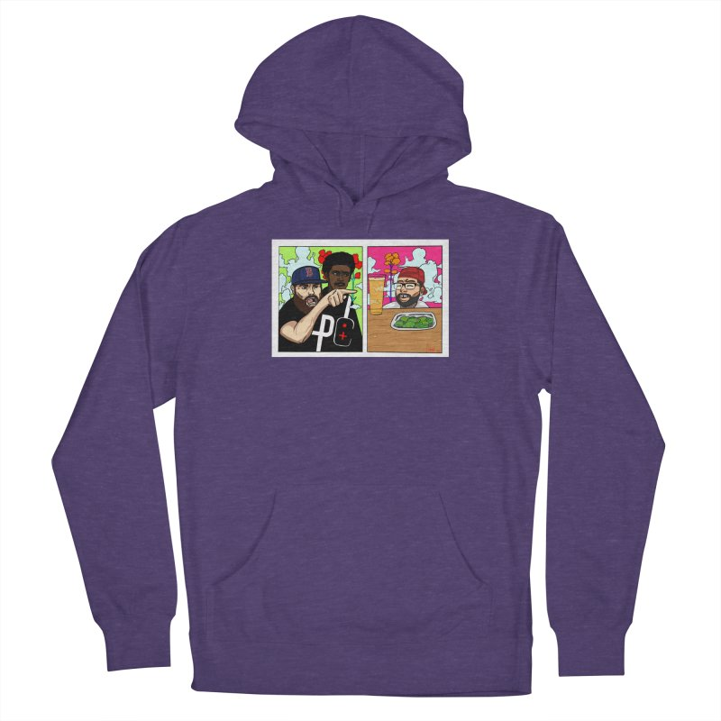PTC Bizarre Adventure: A Meme Men's French Terry Pullover Hoody by Official Pass The Controller Store