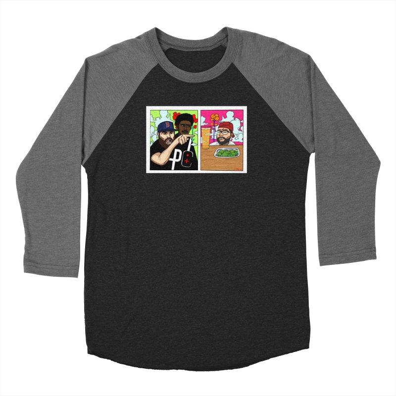 PTC Bizarre Adventure: A Meme Women's Baseball Triblend Longsleeve T-Shirt by Official Pass The Controller Store