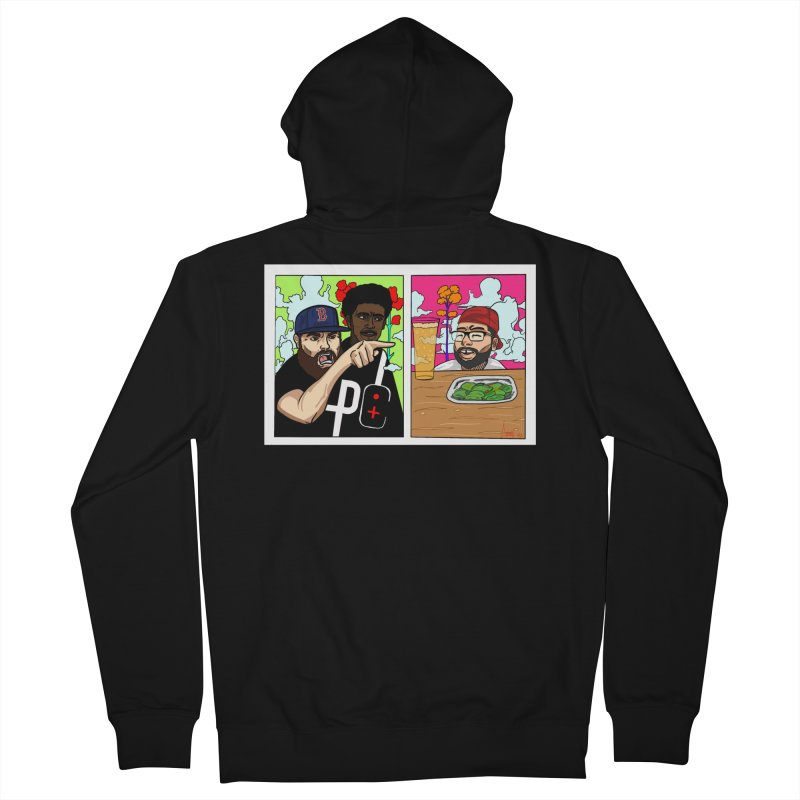 PTC Bizarre Adventure: A Meme Women's French Terry Zip-Up Hoody by Official Pass The Controller Store