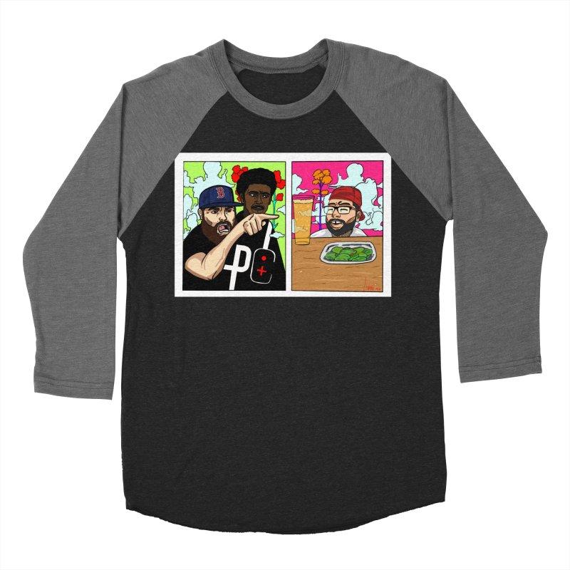 PTC Bizarre Adventure: A Meme Men's Baseball Triblend Longsleeve T-Shirt by Official Pass The Controller Store