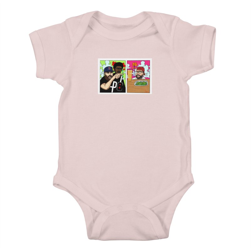 PTC Bizarre Adventure: A Meme Kids Baby Bodysuit by Official Pass The Controller Store