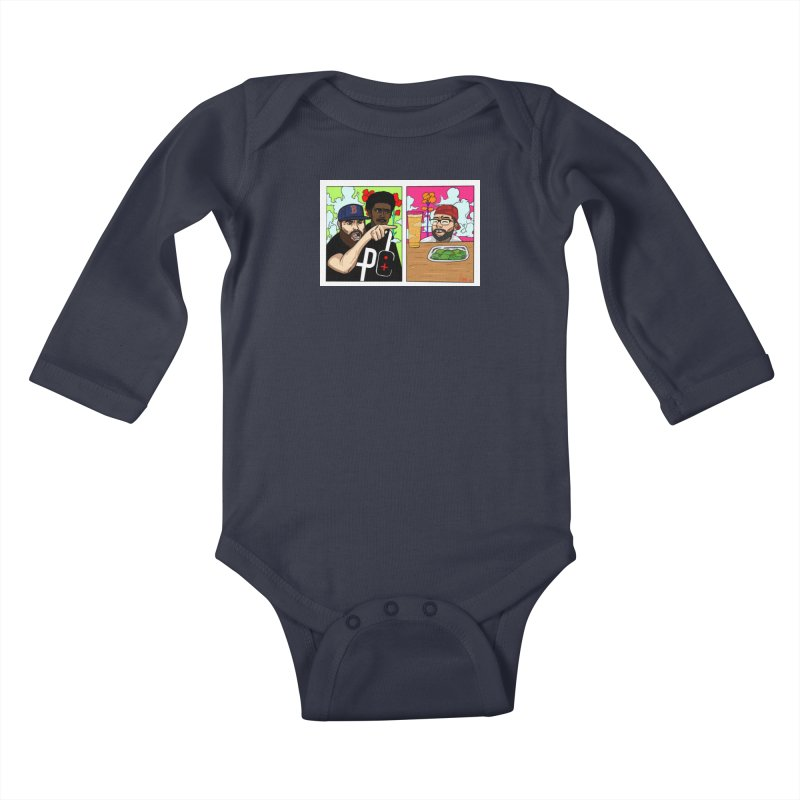 PTC Bizarre Adventure: A Meme Kids Baby Longsleeve Bodysuit by Official Pass The Controller Store
