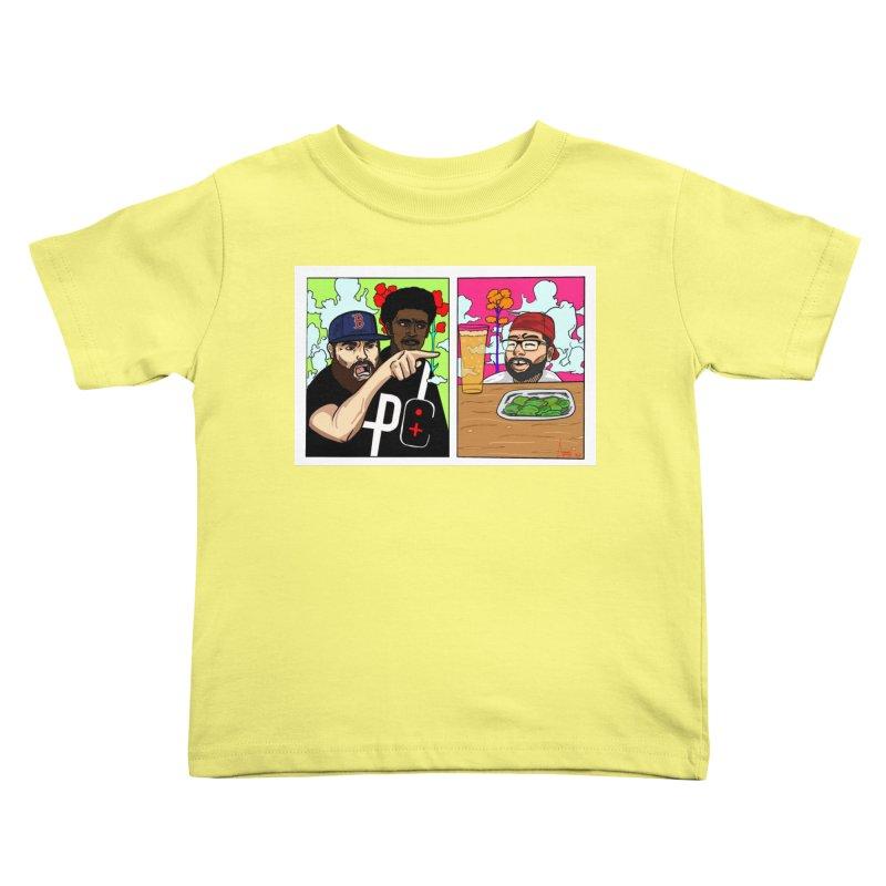 PTC Bizarre Adventure: A Meme Kids Toddler T-Shirt by Official Pass The Controller Store