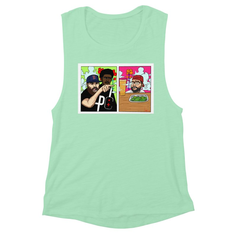 PTC Bizarre Adventure: A Meme Women's Muscle Tank by Official Pass The Controller Store