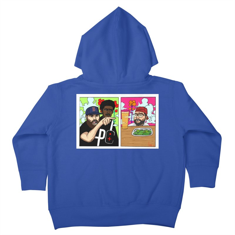 PTC Bizarre Adventure: A Meme Kids Toddler Zip-Up Hoody by Official Pass The Controller Store