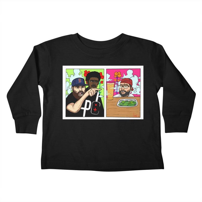 PTC Bizarre Adventure: A Meme Kids Toddler Longsleeve T-Shirt by Official Pass The Controller Store