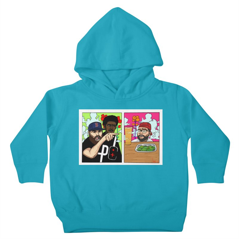 PTC Bizarre Adventure: A Meme Kids Toddler Pullover Hoody by Official Pass The Controller Store