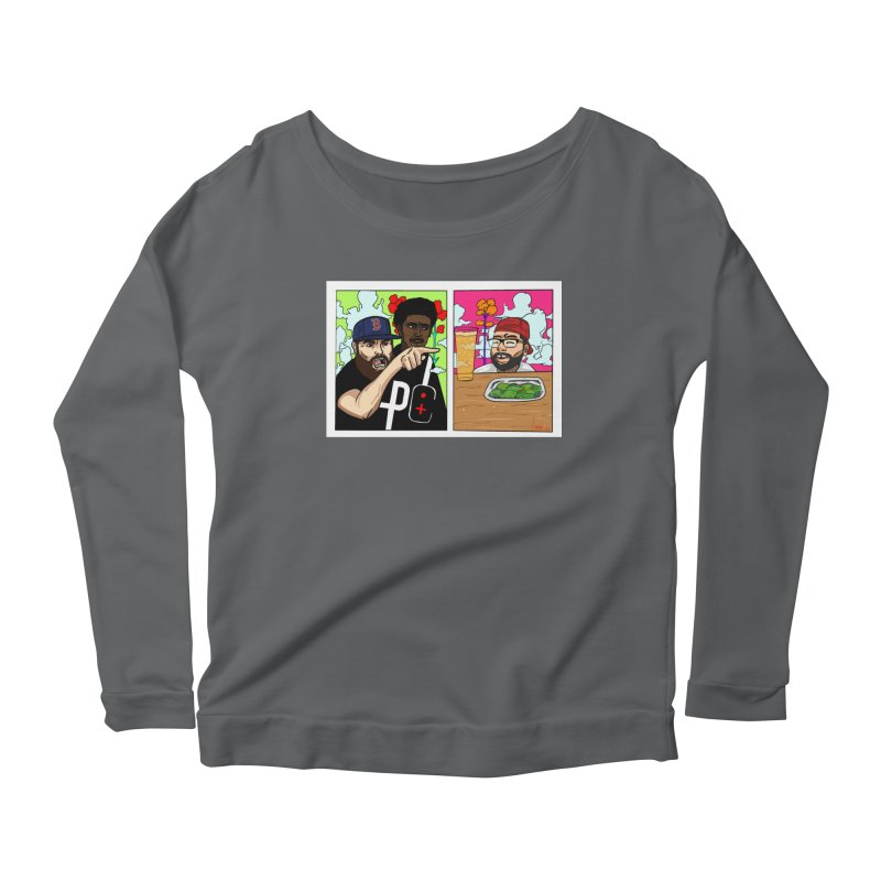 PTC Bizarre Adventure: A Meme Women's Scoop Neck Longsleeve T-Shirt by Official Pass The Controller Store