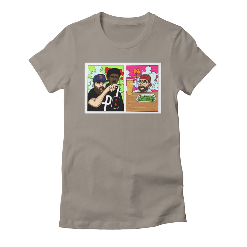 PTC Bizarre Adventure: A Meme Women's Fitted T-Shirt by Official Pass The Controller Store