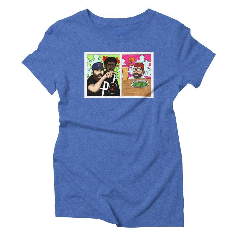 PTC Bizarre Adventure: A Meme Women's Triblend T-Shirt by Official Pass The Controller Store
