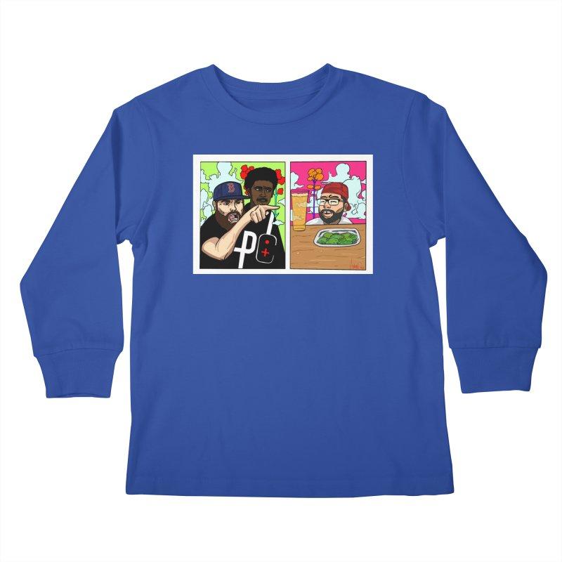 PTC Bizarre Adventure: A Meme Kids Longsleeve T-Shirt by Official Pass The Controller Store