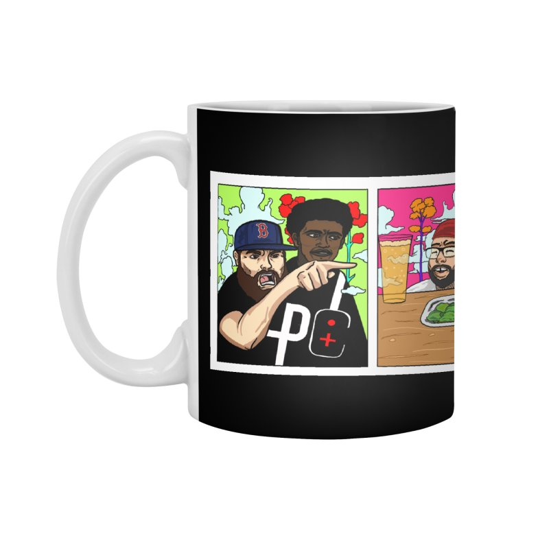 PTC Bizarre Adventure: A Meme Accessories Mug by Official Pass The Controller Store