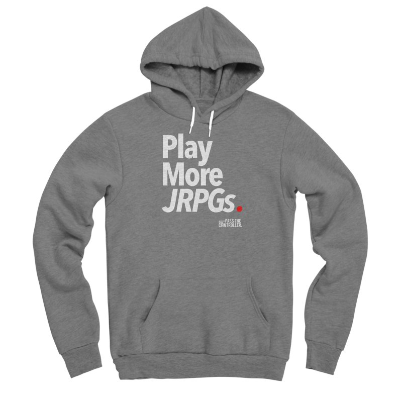 Play More JRPGs (Series 1) Men's Pullover Hoody by Official Pass The Controller Store
