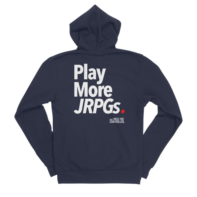 Play More JRPGs (Series 1) Women's Zip-Up Hoody by Official Pass The Controller Store