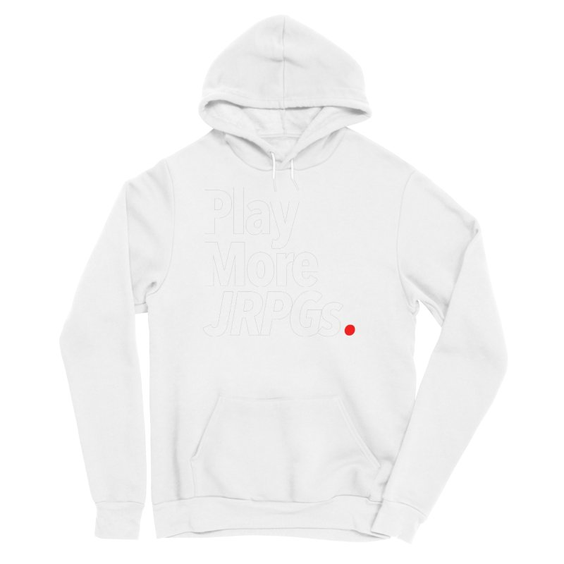 Play More JRPGs (Series 1) Women's Sponge Fleece Pullover Hoody by Official Pass The Controller Store