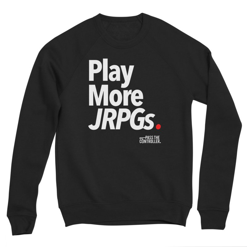 Play More JRPGs (Series 1) Women's Sweatshirt by Official Pass The Controller Store