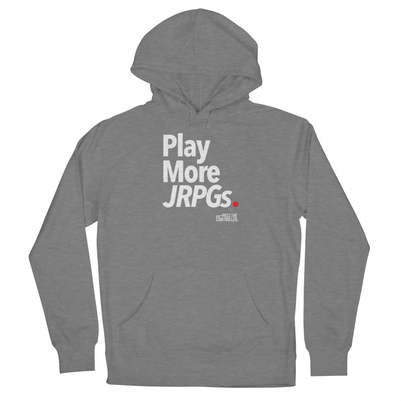 Play More JRPGs (Series 1) Women's Pullover Hoody by Official Pass The Controller Store