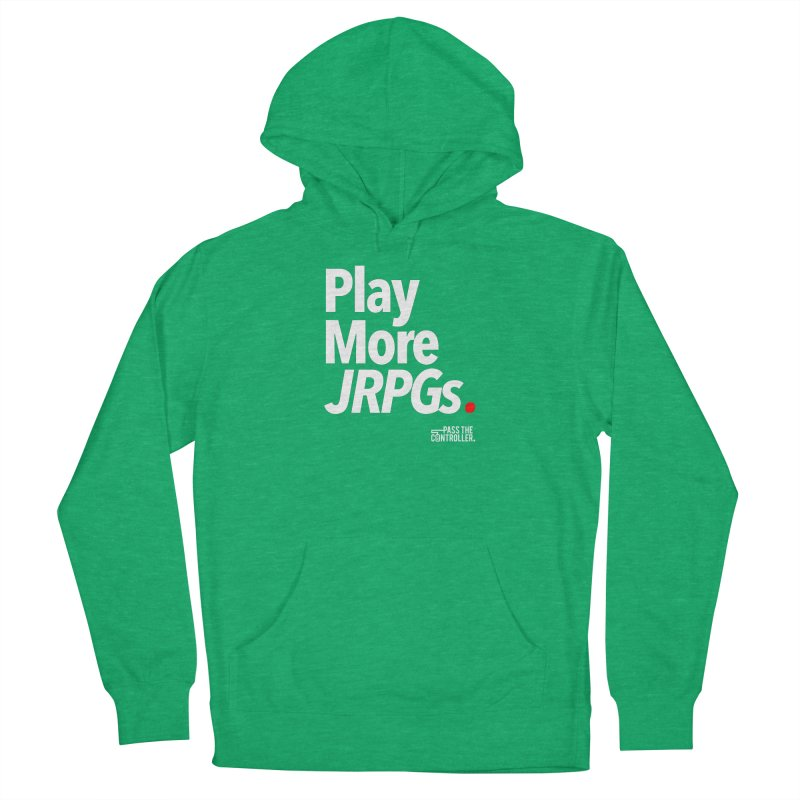 Play More JRPGs (Series 1) Women's French Terry Pullover Hoody by Official Pass The Controller Store