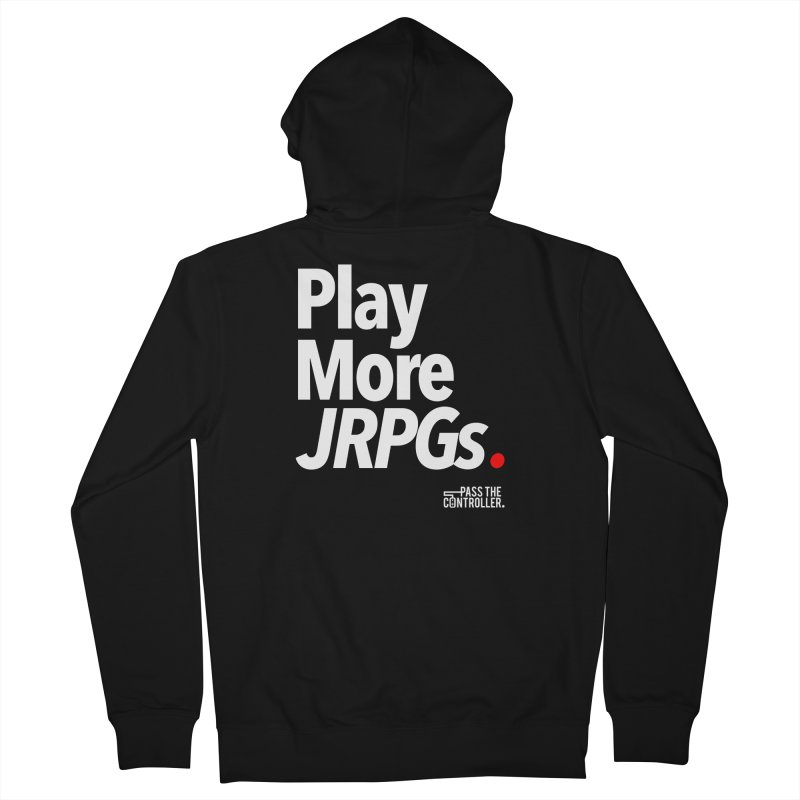 Play More JRPGs (Series 1) Women's French Terry Zip-Up Hoody by Official Pass The Controller Store