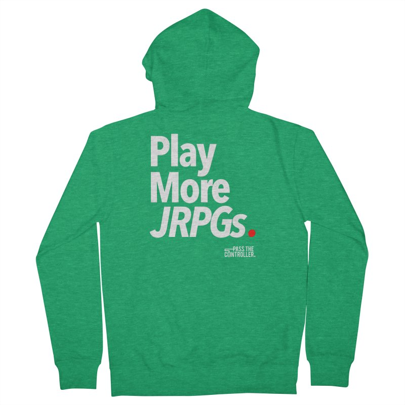 Play More JRPGs (Series 1) Men's Zip-Up Hoody by Official Pass The Controller Store