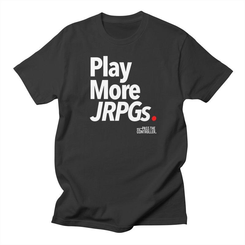 Play More JRPGs (Series 1) Women's Regular Unisex T-Shirt by Official Pass The Controller Store