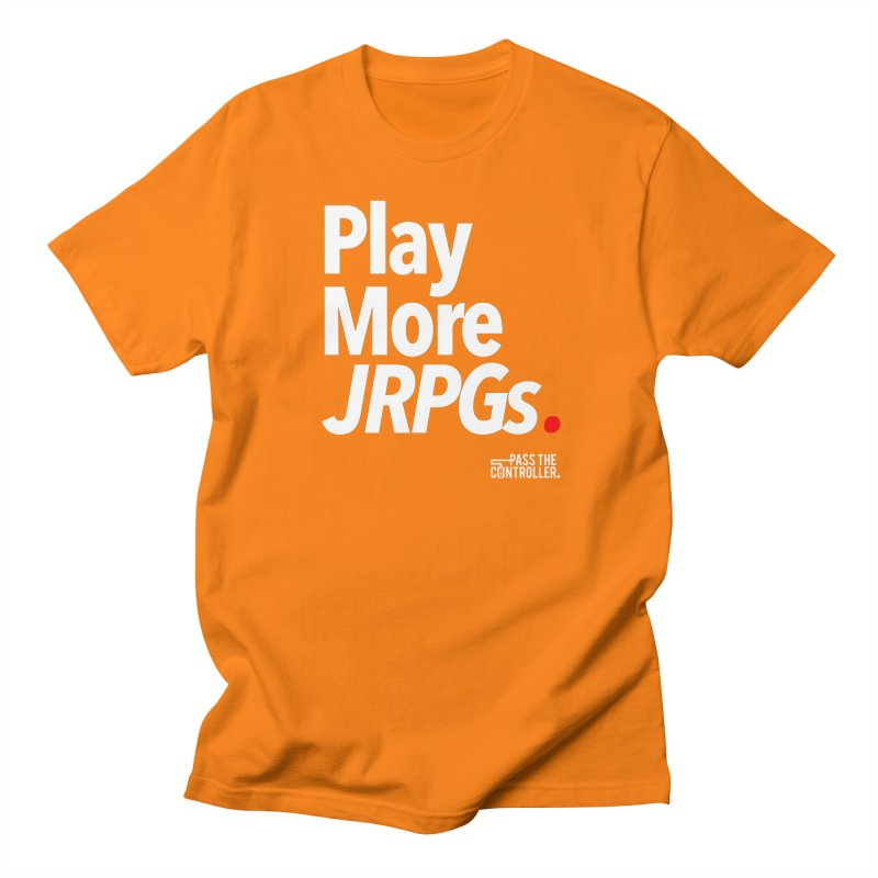 Play More JRPGs (Series 1) Men's Regular T-Shirt by Official Pass The Controller Store