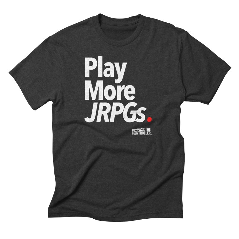 Play More JRPGs (Series 1) Men's T-Shirt by Official Pass The Controller Store