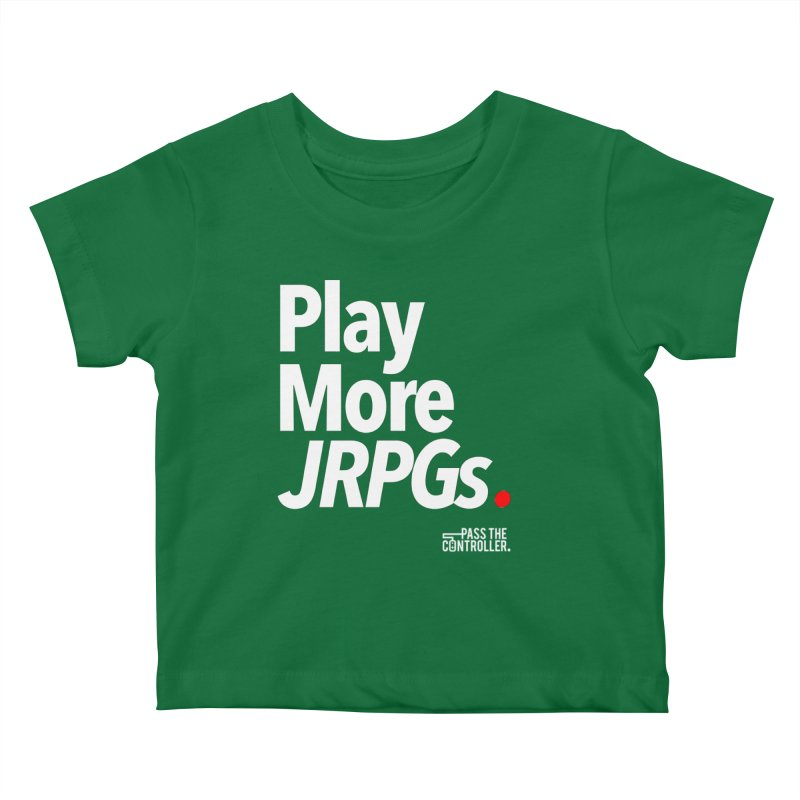 Play More JRPGs (Series 1) Kids Baby T-Shirt by Official Pass The Controller Store