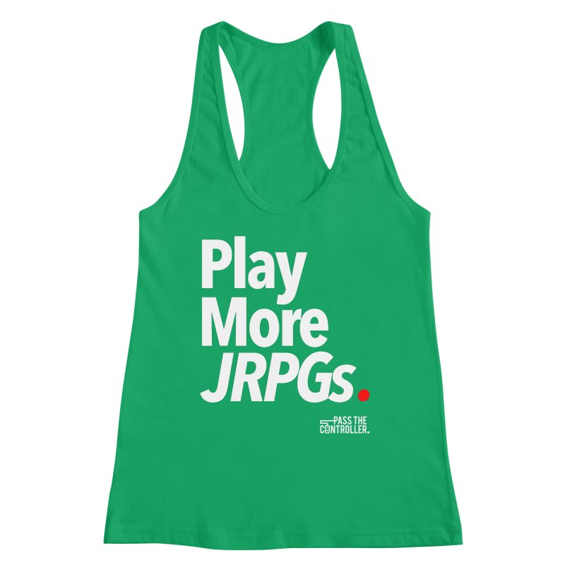 Play More JRPGs (Series 1) Women's Tank by Official Pass The Controller Store